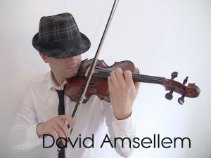violoniste pour bar-mitzvah mariage juif : photo du violoniste de Swing Klezmer