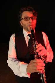 Clarinettiste klezmer pour mariage juif