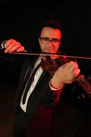 David Amsellem - violoniste du Swing Klezmer Orchestra