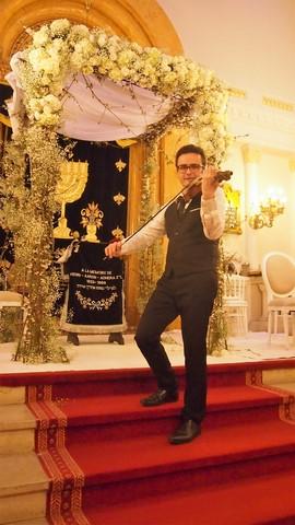 violoniste pour synagogue et cérémonie